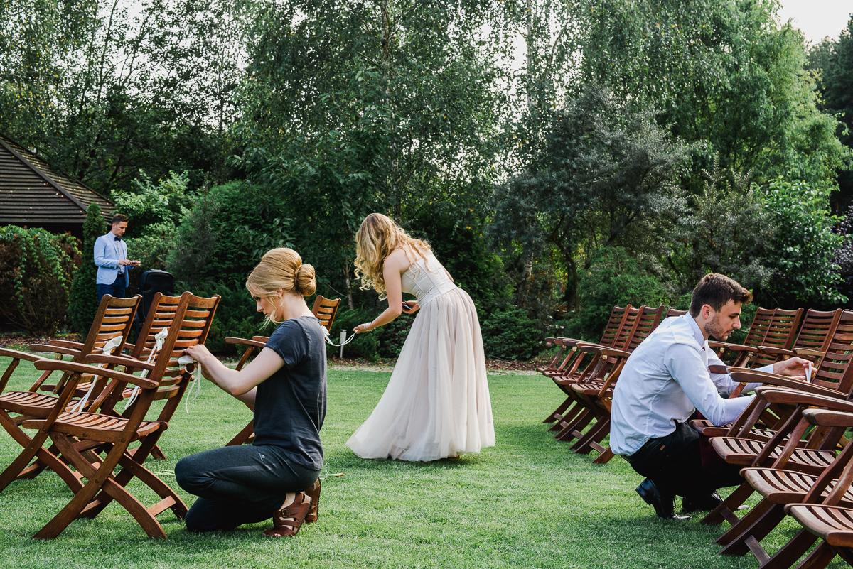 przygotowania do ślubu plenerowego w otwocku