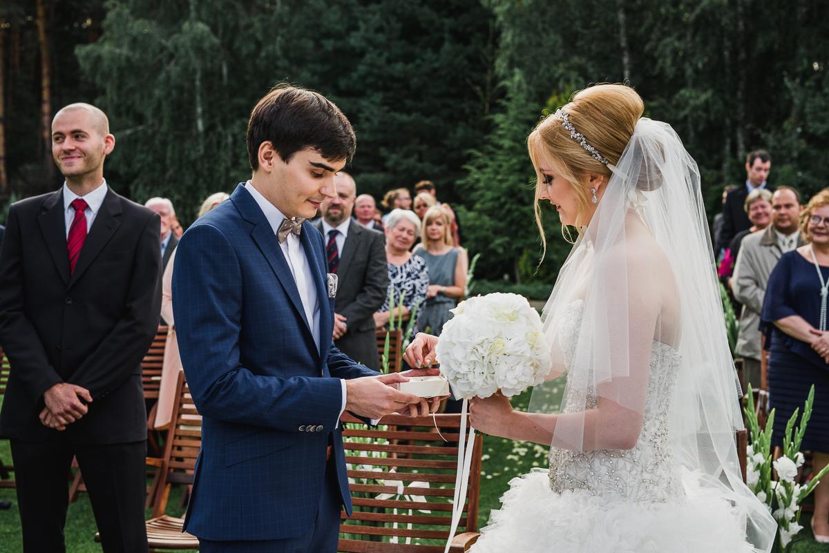 ślub cywilny plenerowy obrączki przysięga