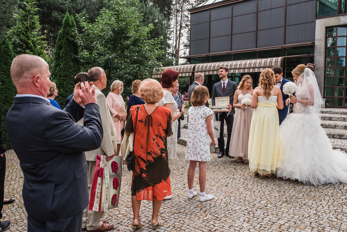 goście życzenia otwock maranello rodzina ślub fotograf