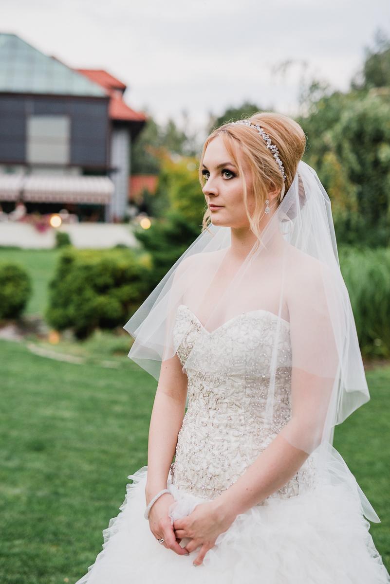 plener w dniu ślubu - panna młoda maranello otwock
