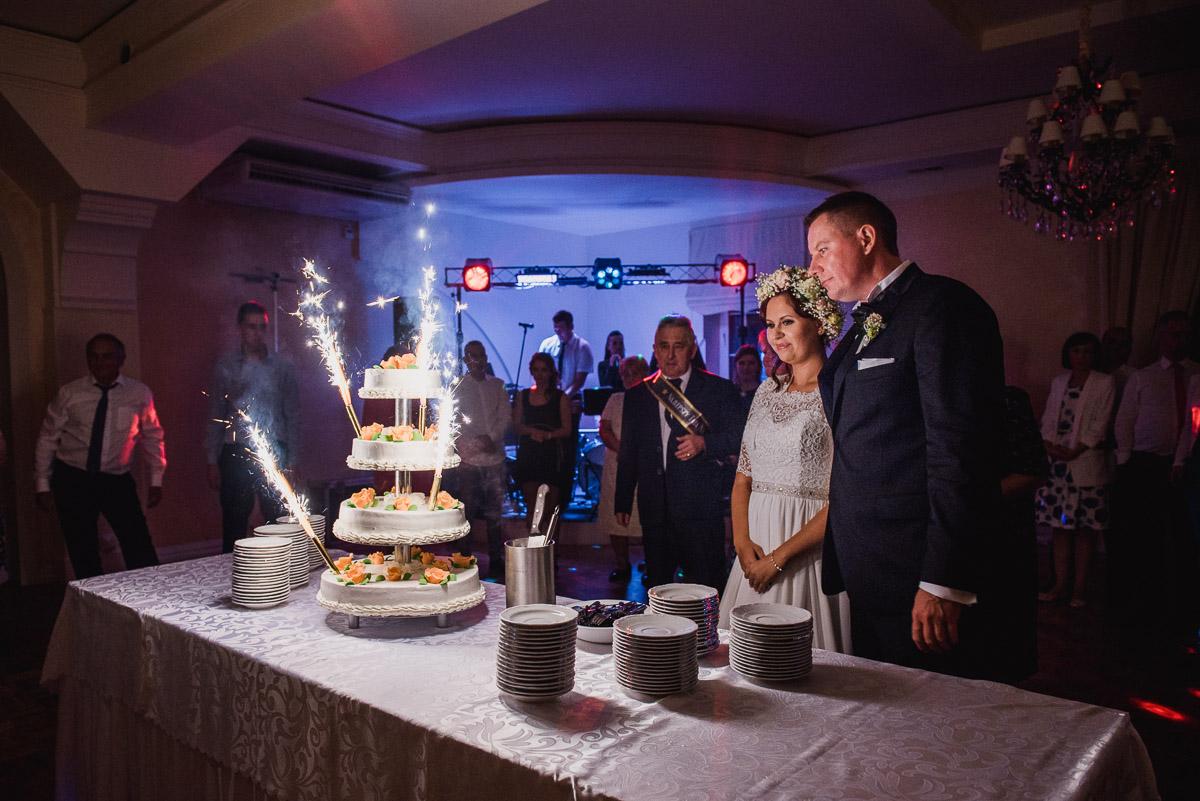 Góra kalwaria złote runo wesele tort